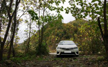 Аренда Toyota Corolla в Сочи